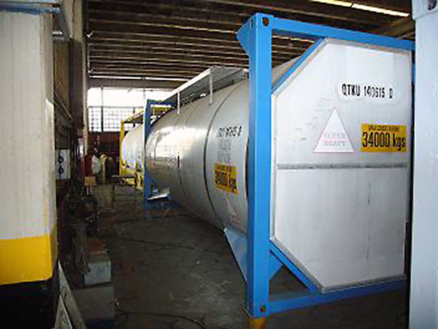Used Tank Containers